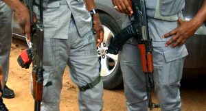 Customs officers 300x162 - Customs Officers Open Fire On Angry Youths In Kebbi, Killing One Person
