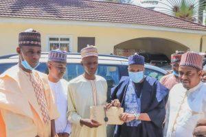 Dahiru 300x200 - Man Who Trekked For Buhari Recieves Car, Cash Gifts