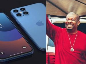 Don Jazzy and iPhone 12 pro max 300x225 - Don Jazzy Finally 'Gets' iPhone 12 Pro Max From Fans