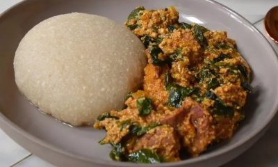 File Photo: An already existing photo of Eba and Egusi