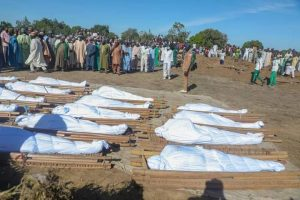 FB IMG 1606643665940 300x200 - #ZabarmariMassacre: 35 Decomposing Bodies Freshly Discovered By Troops In Borno