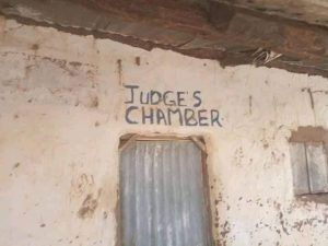 Gombe NBA 2 300x225 - Reactions As Photos Of Dilapidated Court Building In Gombe Surfaces