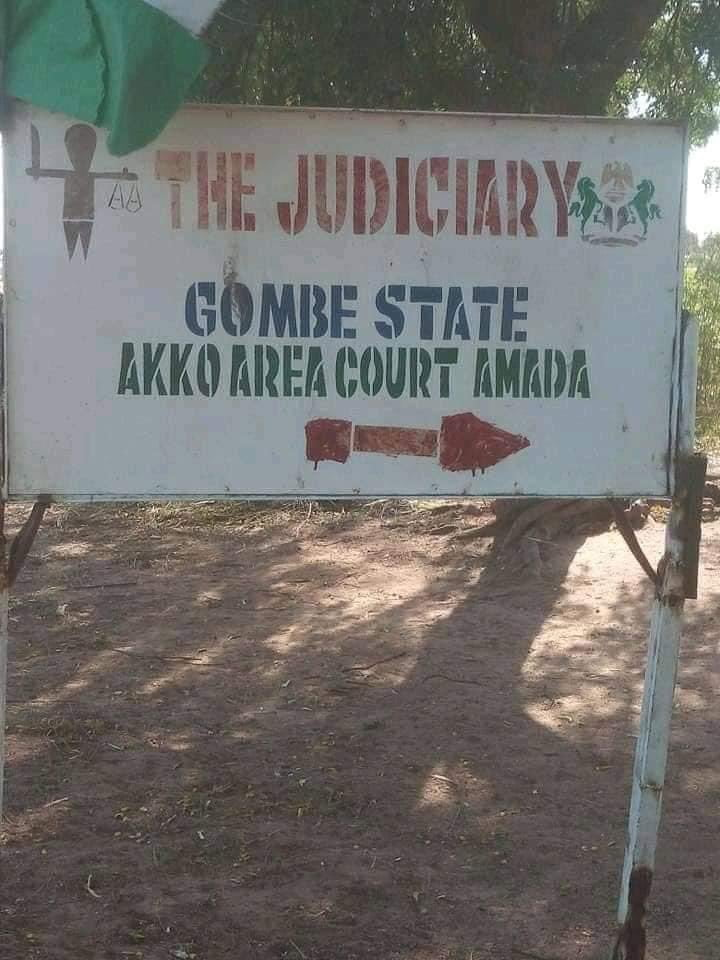 Gombe NBA - Reactions As Photos Of Dilapidated Court Building In Gombe Surfaces