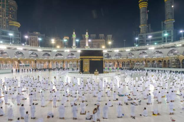 Grand Mosque - Saudi Arabia Grand Mosque Opened For 20,000 Umrah Pilgrims On Sunday