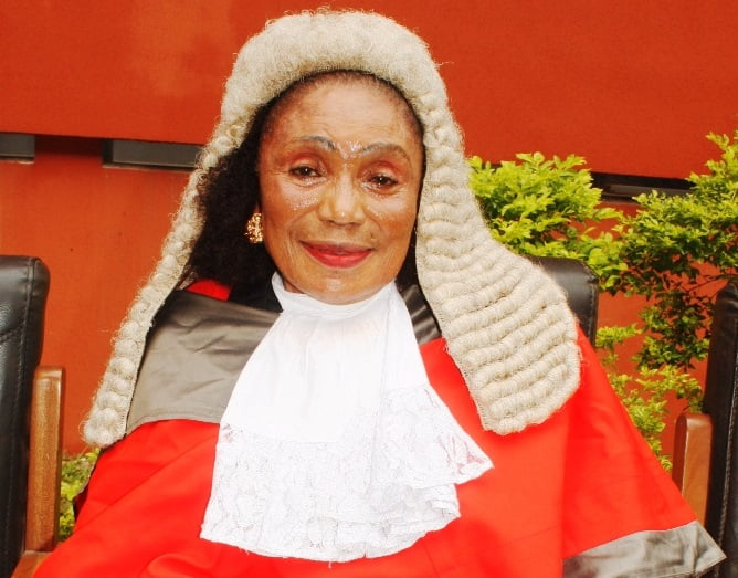 Hon. Justice Ada Ehigiamusoe, Edo State Chairman of the Judicial Panel of Inquiry on #EndSARS.