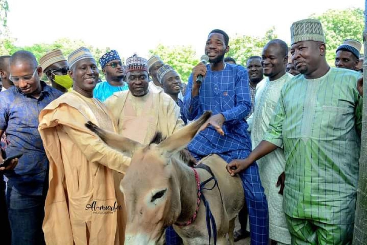 Kano Governor, Ganduje's Aide Distributes Donkeys To Empower Youth In State
