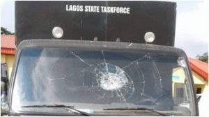 LEYRTIB7 1 1024x576 1 300x169 - Lagos: Okada Riders, Hoodlums Attack Task Force (Video)
