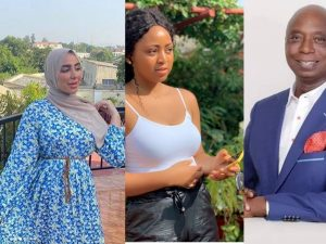 Ned Nwoko and New Wife 300x225 - Regina Daniels' Billionaire Husband, Ned Nwoko To Marry Seventh Wife From UK