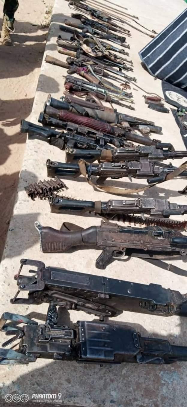 Nigerian Army Boko Haram Weapon