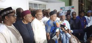 PDP Govs 300x139 - Details Of PDP National Caucus Meeting Emerge