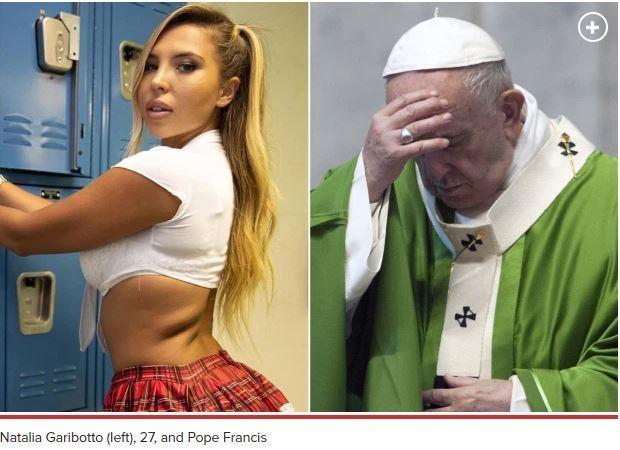 Pope Francis' Instagram Account 'Likes' Bikini Model's Photo