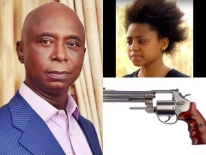 Regina Daniels and Ned Nwoko 300x225 - Regina Daniels Pulled The Trigger Under Ned Nwoko's Watch – [Video]