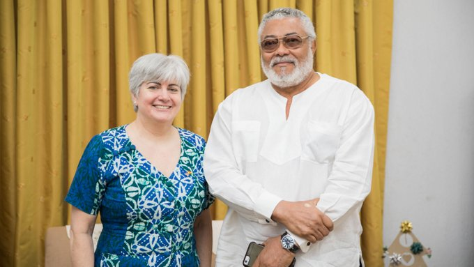 US Embassy Reacts To Jerry Rawlings' Death