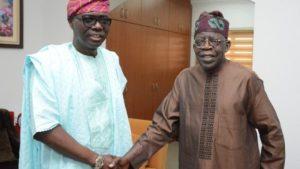 Tinubu and Sanwo Olu 300x169 - Lagos: Tinubu Reacts To Plans By Sanwo-Olu To Stop Pension For Ex-Governors, Deputies