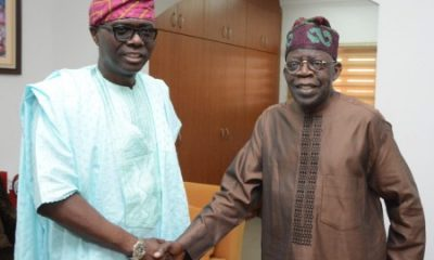 Sanwo-Olu Names Lagos Buildings After Tinubu, Senator Osinowo