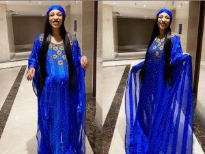 Tonto Dike and walking baby 300x225 - Nollywood Actress, Tonto Dikeh 'Delivers Walking Baby' – [Video]