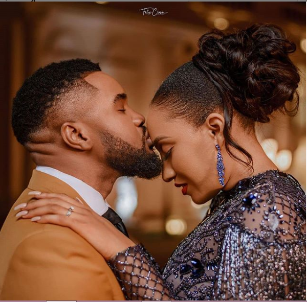 Williams Uchemba and Wife 2 - Actor, Williams Uchemba Weds Brunella Oscar Traditionally – [See Photos]