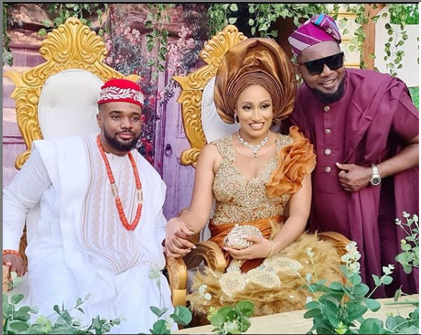 Williams Uchemba and Wife 5 - Actor, Williams Uchemba Weds Brunella Oscar Traditionally – [See Photos]
