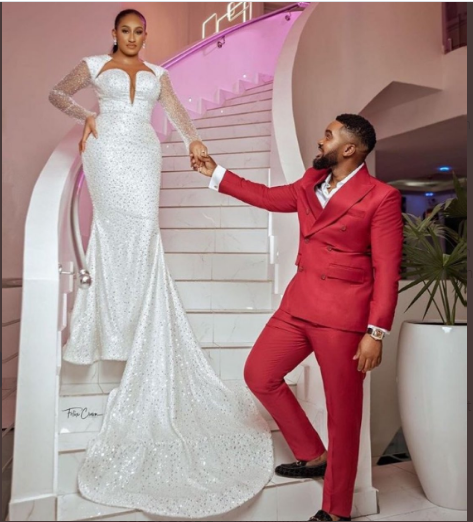 Williams Uchemba and Wife - Actor, Williams Uchemba Weds Brunella Oscar Traditionally – [See Photos]