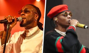 Wizkid and Burna Boy 300x180 - Fans Shade Burna Boy For 'Comparing' Himself With Wizkid