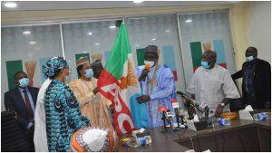 abbo 300x169 - BREAKING: APC Formally Receives Senator Abbo As He Dumps PDP (Photos)