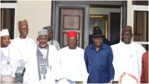 jonathan apc 300x169 - PDP Reveals Reason Behind APC Governors Visit To Jonathan
