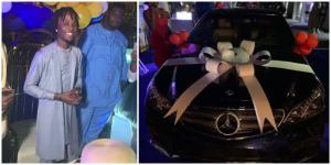 lacon wins Benz 300x150 - Laycon Appreciates Fans On Receiving Gifts