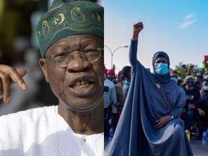 lai and aisha 300x225 - #LekkiShootings: Aisha Blasts Lai Mohammed Over Comments On CNN Report