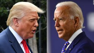 trump biden 300x169 - US election: Biden Overtakes Trump In Georgia