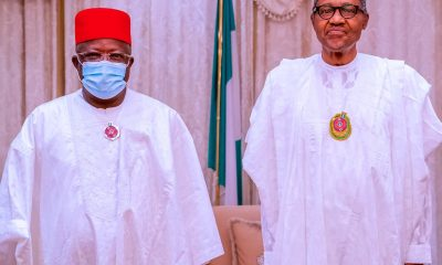 Anyim, Others Backed Out of APC Defection After I Met Buhari - Umahi
