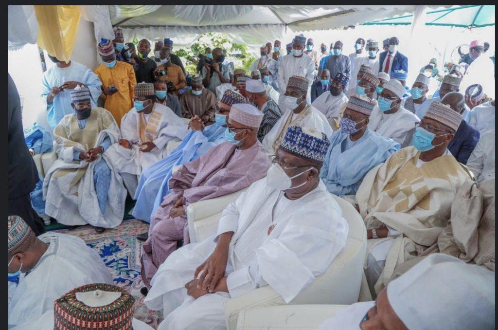 wedding3 1024x678 - PHOTOS: Senate President, Sanusi, Governors, Others Attend El-Rufai Son's Wedding