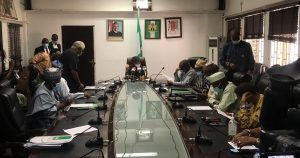 ASUU and Federal Government representatives at the negotiating table 300x158 - FG, SSANU, NASU Meeting Ends In Deadlock