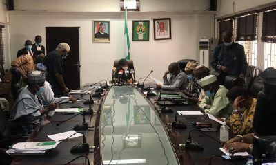 ASUU and Federal Government representatives at the negotiating table
