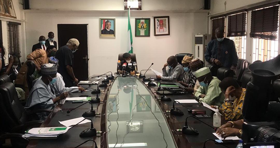 ASUU and Federal Government representatives at the negotiating table