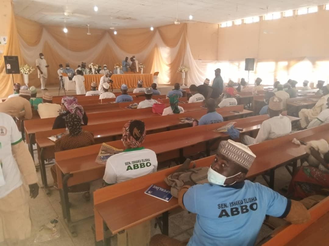 Abbos Empowerment 6 - Senator Elisha Abbo Gives N200,000 Each To 150 Youths, Women – [Photos]