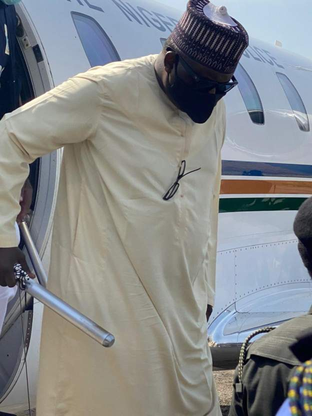 Abdulrasheed Maina. - Breaking: Maina Arrives Nigeria From Niger Republic