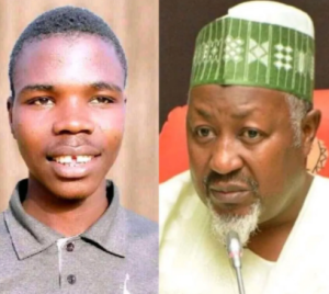 Badaru Abubakar and accuser 300x268 - Court Sentences Young Man To Prison For Accusing Gov Badaru Of Fraud