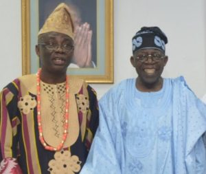 Bakare and Tinubu 300x253 - 2023: Afenifere Gives Conditions For Supporting Tinubu, Fayemi, Bakare