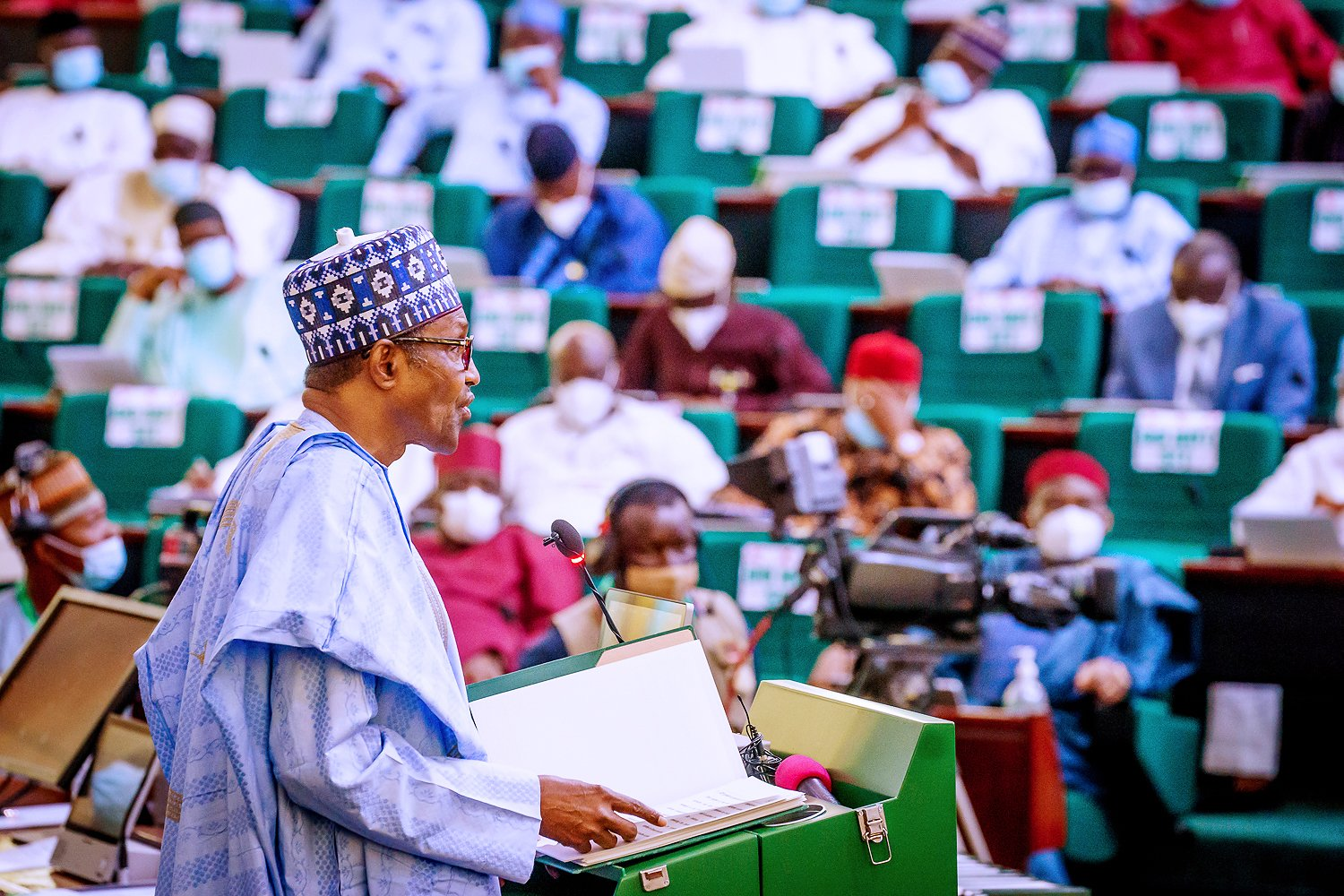 President Buhari refrains from appearing before lawmakers