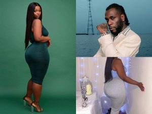 Burna Boys Girlfriend 300x225 - #ENDSARS: Burna Boy's Alleged Girlfriend Flaunts Her 'Huge Backside' On Instagram [Photos]