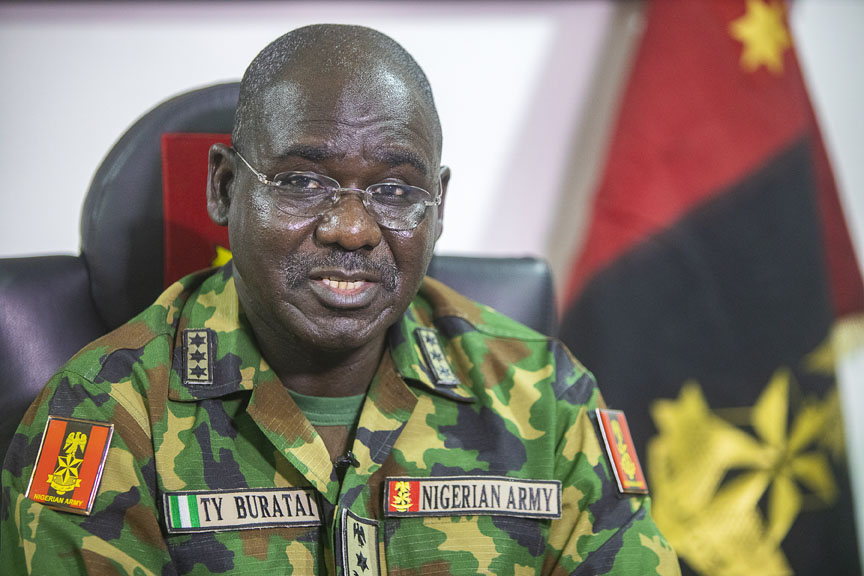 Buratai Hails Troops For Repelling Boko Haram Attack In Borno