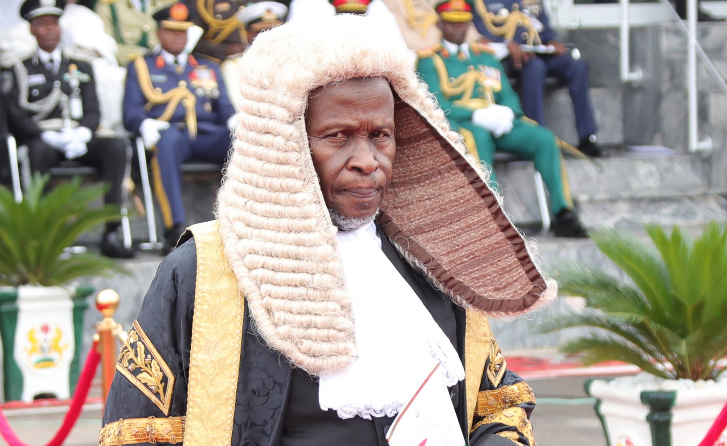 Concerns arose over CJN's illness after he did not attend the inauguration of the new SAN
