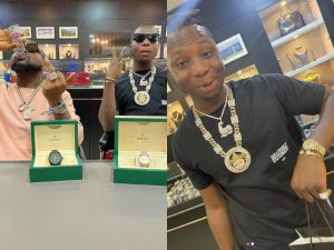 Davido Luxury 300x225 - Davido Buys 7-Shirts, Watches For N4.4m In Dubai – Fans React