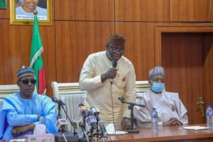 Ekiti State Governor Kayode Fayemi and chairman of the Association of Nigerian Governors says security is beyond the control of the Nigerian Army alone 300x200 - Nigeria Army Alone Cannot Win Boko Haram – Governors