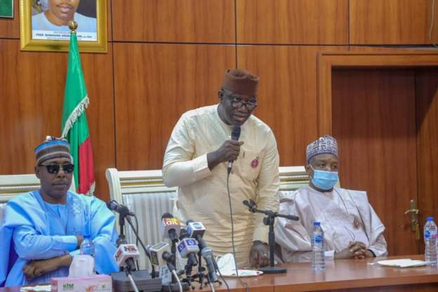 Ekiti State Governor Kayode Fayemi and chairman of the Association of Nigerian Governors says security is beyond the control of the Nigerian Army alone