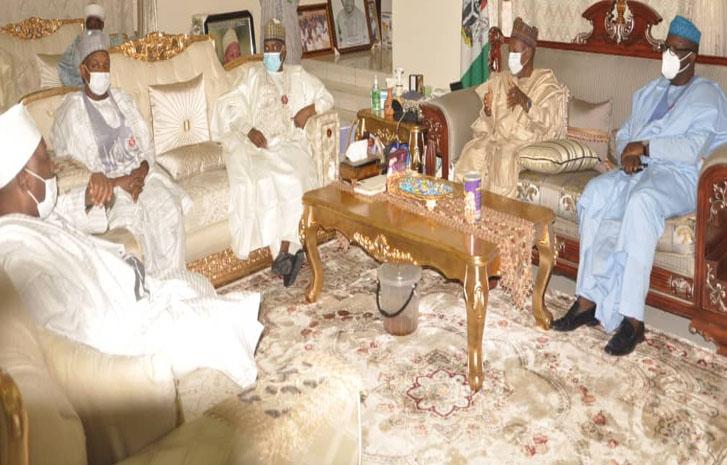 Kankara: Fayemi, Tambuwal, Atiku Meet Masari In Katsina