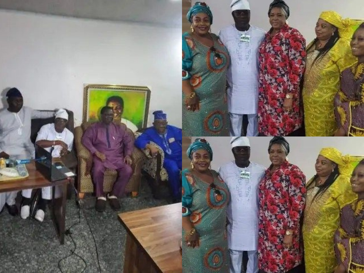 K1 Reunites with Barristers Family 1 - Fight Ends Between Fuji Singer, K1 And Ayinde Barrister's Family