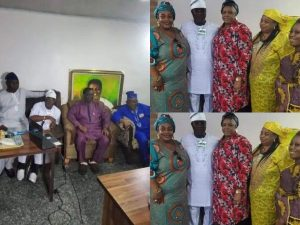 K1 Reunites with Barristers Family 300x225 - Fight Ends Between Fuji Singer, K1 And Ayinde Barrister's Family
