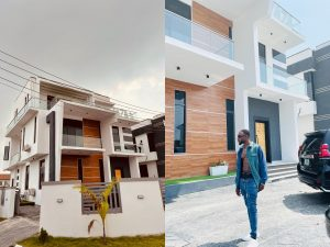 L.X.A New House in Lagos 300x225 - Nigerian Singer, L.X.A Joins Lagos Landlord Association As He Unveils New House