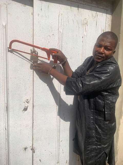 Looter - Man Steals N8m Worth Of Goods From Kano Warehouse – [Photo]